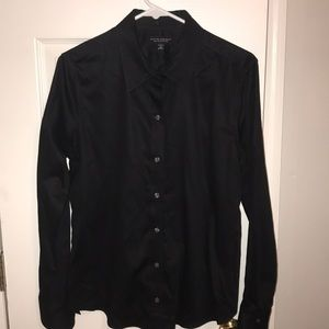Banana Republic non iron button up shirt size 12